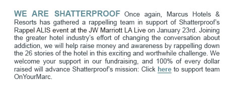We Are Shatterproof