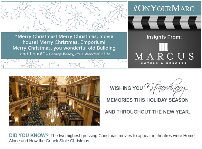 Merry Christmas! Merry Christmas, movie house! Merry Christmas, Emporium! Merry Christmas, you wonderful old Building and Loan! -George Bailey, It's A Wonderful Life