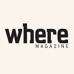 Where Magazine logo