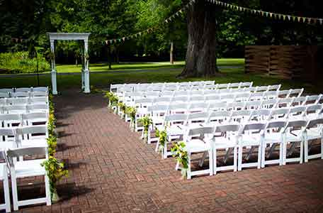 outdoor wedding venues wisconsin – garden weddings