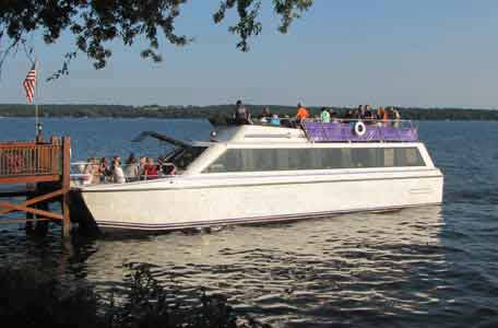 Special Event Cruises, yacht cruises, cruises on green lake