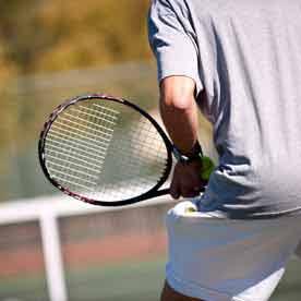 Tennis in Green Lake