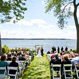 Green Lake Weddings Wisconsin WI