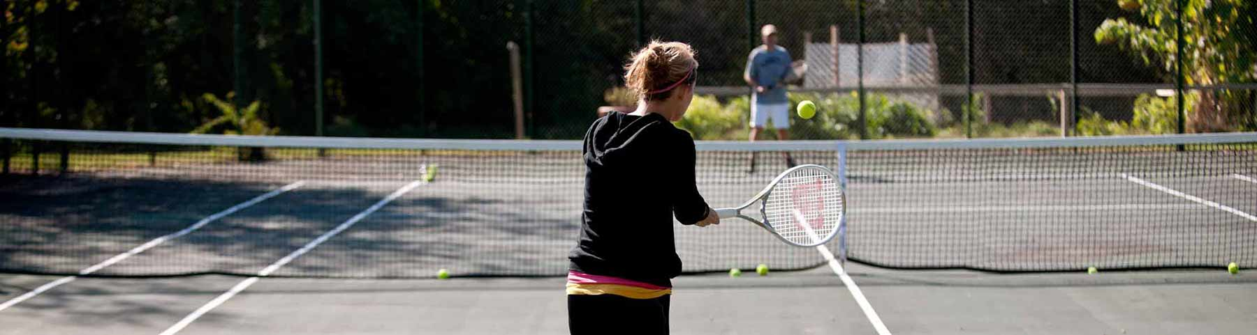 Tennis in Green Lake