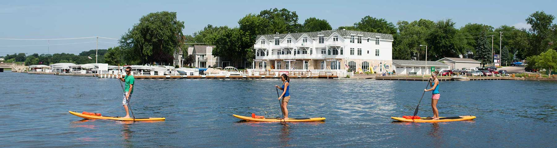 water sports in green lake wi, heidel house resort & spa water recreation