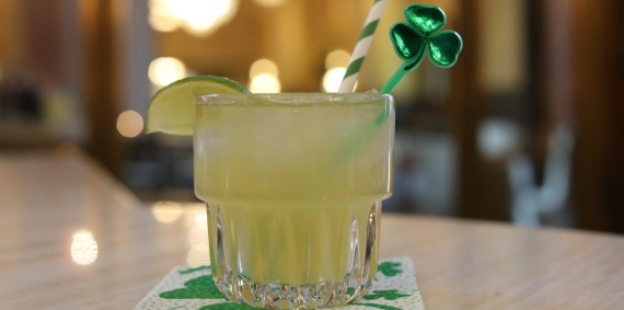 St. Patrick's Day Drink Special in the Monarch