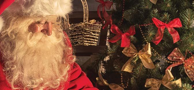 Breakfast with Santa in Hilton Ballroom