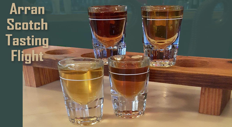 Arran Scotch Tasting Flight