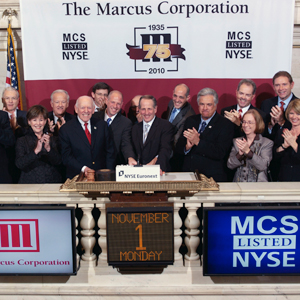 Executive Team at NYSE Ringing the Bell