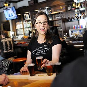 Bartender at Miller Time Pub