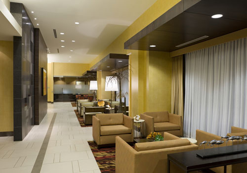 Hilton Bloomington Lobby
