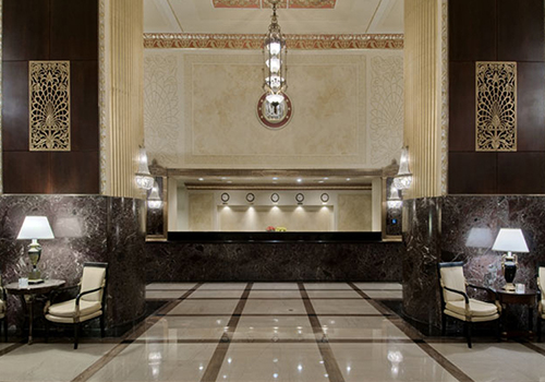 Hilton Milwaukee Lobby