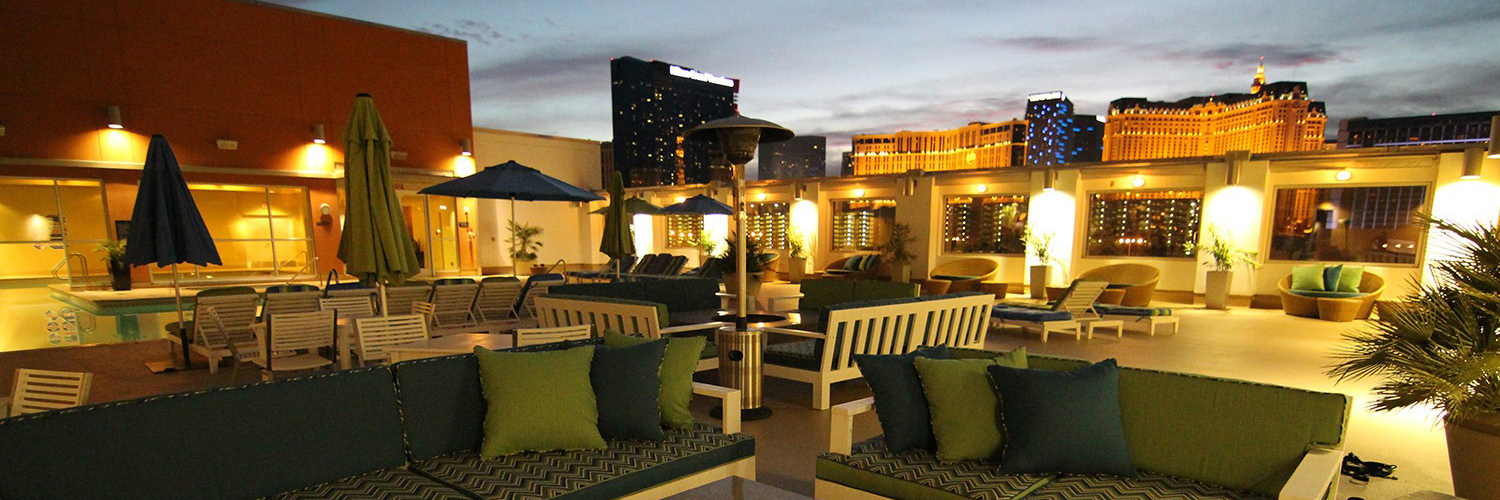 Rooftop Patio at the Platinum Hotel