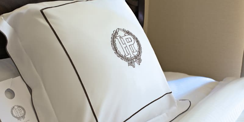Image of extremely comfortable Pfister pillow