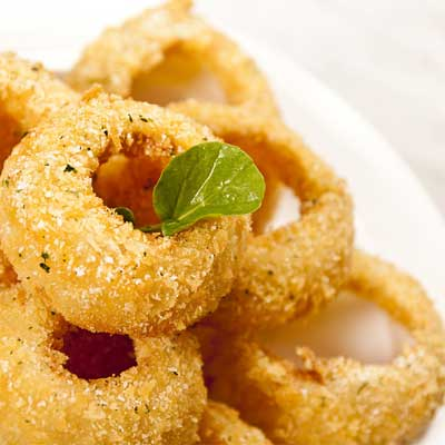 onion rings from menu