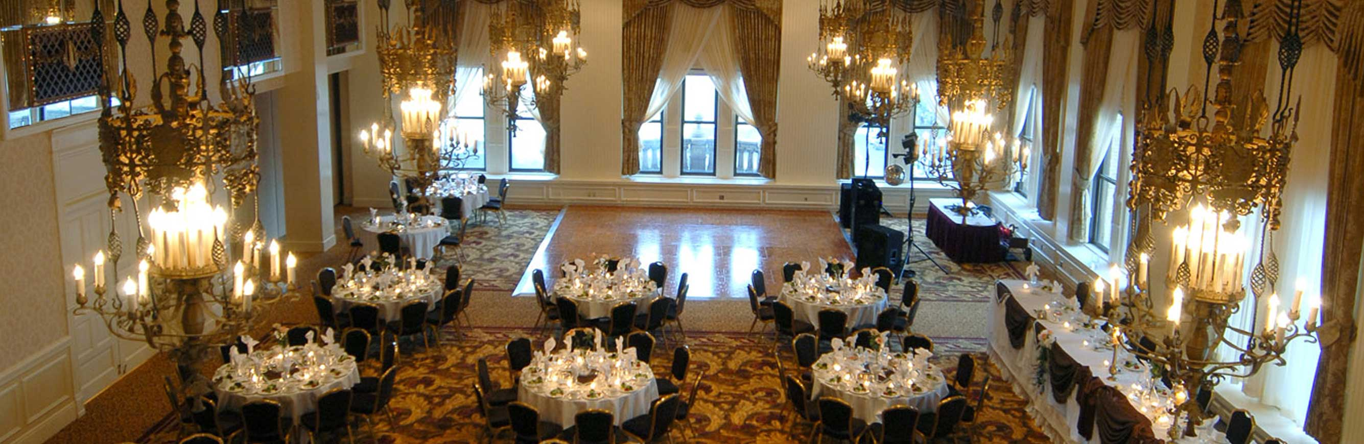 Milwaukee Wedding Venues & Hotel Ballrooms | The Pfister Hotel