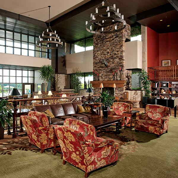 Lobby Lounge at Grand Geneva