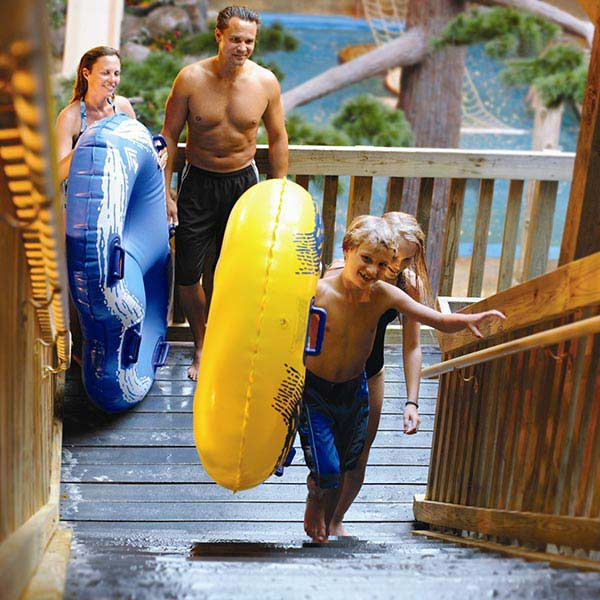 Timber Rapids water park