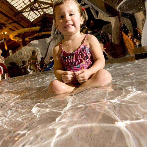 Tiny Timbers indoor water park