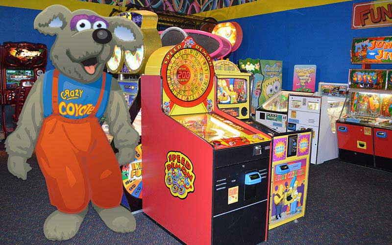 Crazy Coyote's Arcade