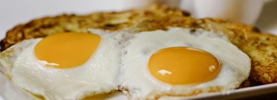 Eggs, sunny side up